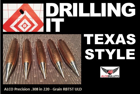 Putting ALCO Precision .308 in 220 grain High-performance Bullets on Target