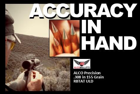 Precision .308 RBTAT ULD 155 grain Accuracy