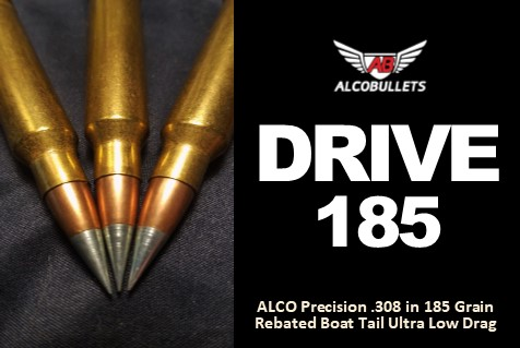 Drive Consistent Precision Bullets with .308 185-Grain RBTST ULD