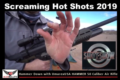 Introducing The HAMMER 50 Caliber Air Rifle and Bullets