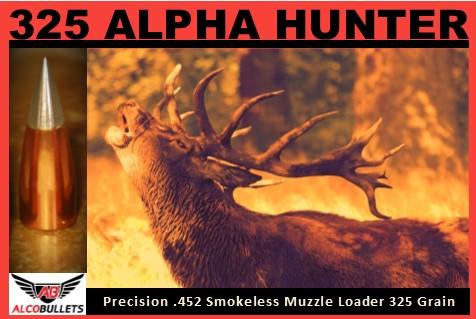 325 ALPHA HUNTER Smokeless Muzzle Loader .425 Thin Jacket