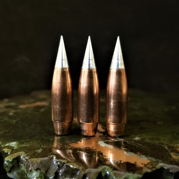 .308 155 Grain RBT ULD Machined Metal Tip