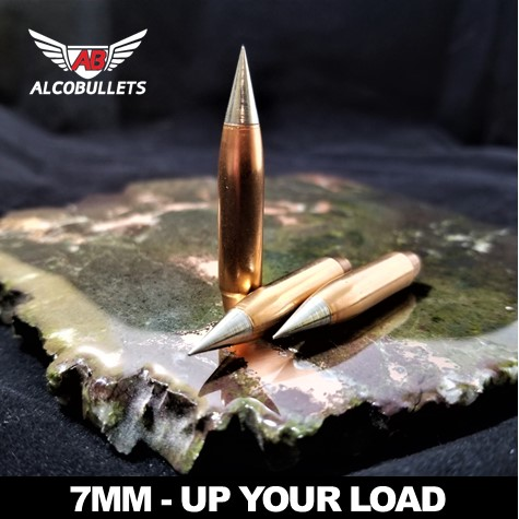 ALCO Precision .284 Rebated Boat Tail Long-Distance Bullets for Accuracy