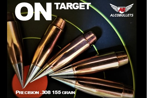On Target with Precision .308 155 Grain Long-distance Bullets