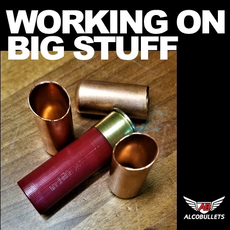 Precision Bullet Development Engineering for Big caliber underway